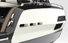 Anna Fendi and Invictus Yacht collaborate to create a stunning miniyacht