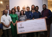 Raju Baraiya is selected as the 'Emerging Artist of the Year' 2019  by Glenfiddich