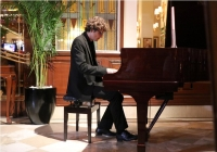 Zoltan Fejervari's piano recital on a Steinway grand at the Imperial Hotel's Nostalgia 1911 Brasserie