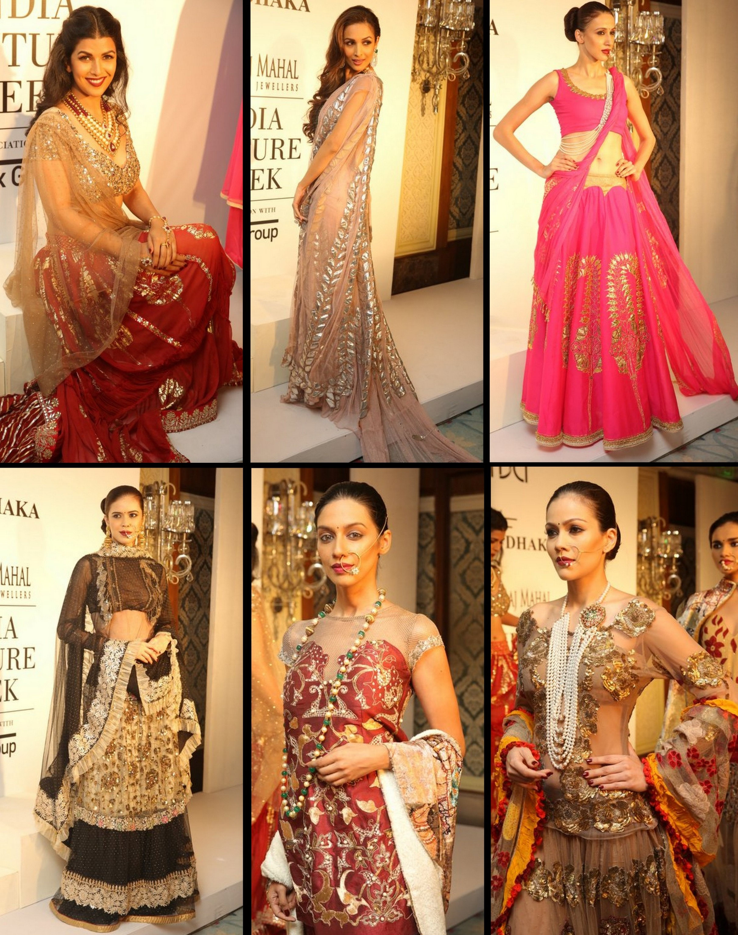 Rina Dhaka's collection at ICW 2014
