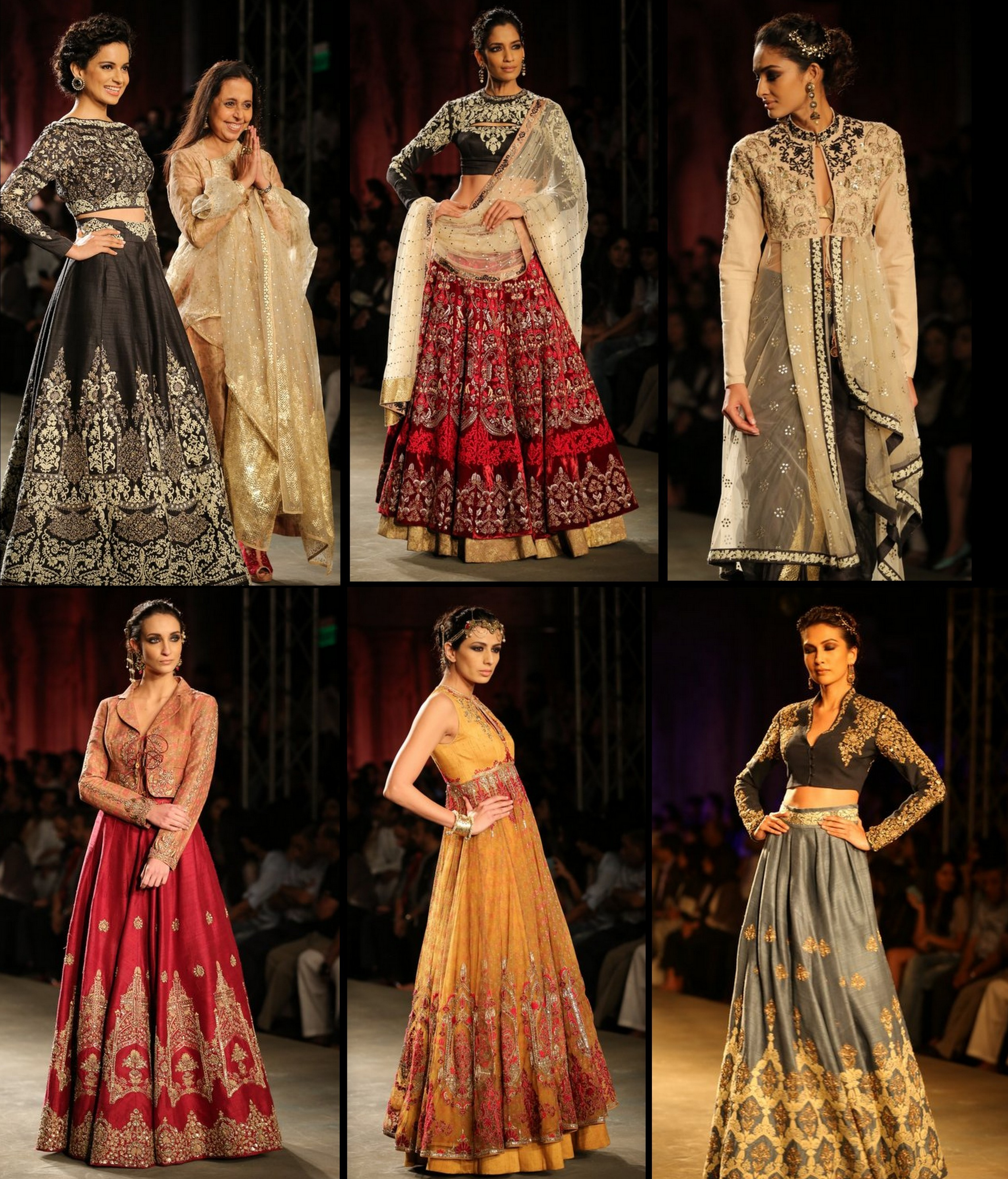 Anu Modi's collection at ICW 2014