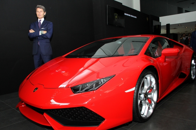 Automobili Lamborghini showroom in Bengaluru