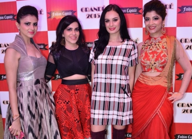 Divya Mahajan, Ritika Handa, Evelyn Sharma and Mallika Jain