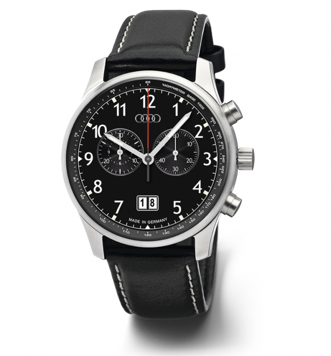 The Audi chronograph