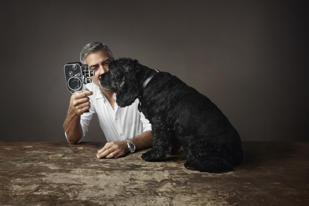 George Clooney in Omega's new campaign